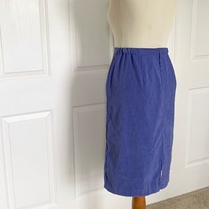 Vintage Clyde gray wool pencil skirt